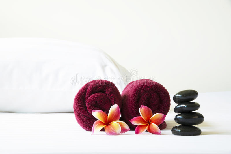 Spa room in hotel royalty free stock images