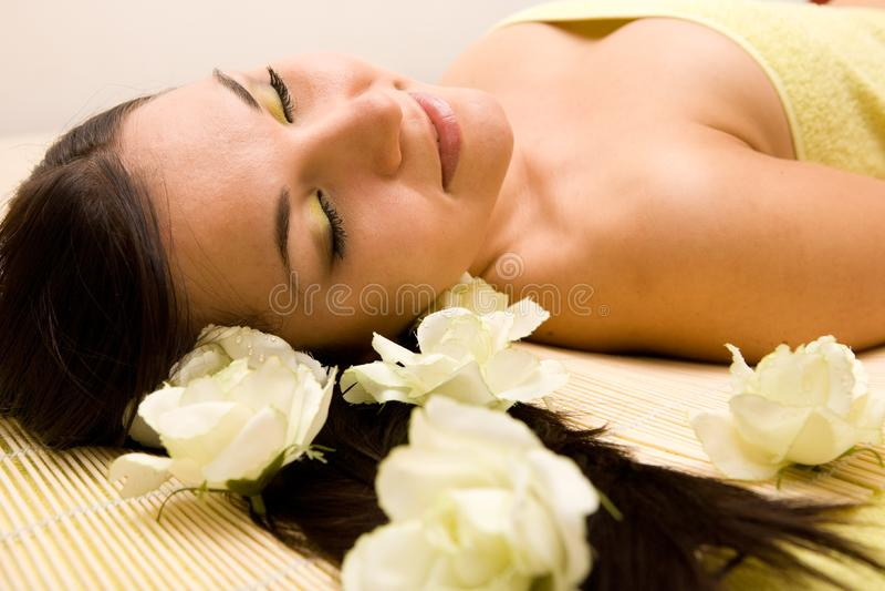 Spa salon royalty free stock photos