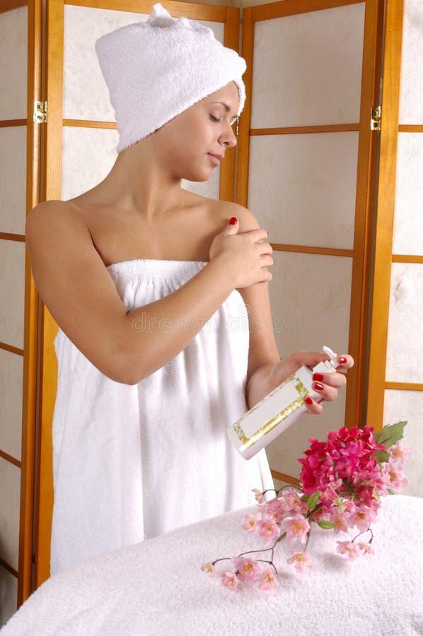 Spa Salon Skincare stock photos