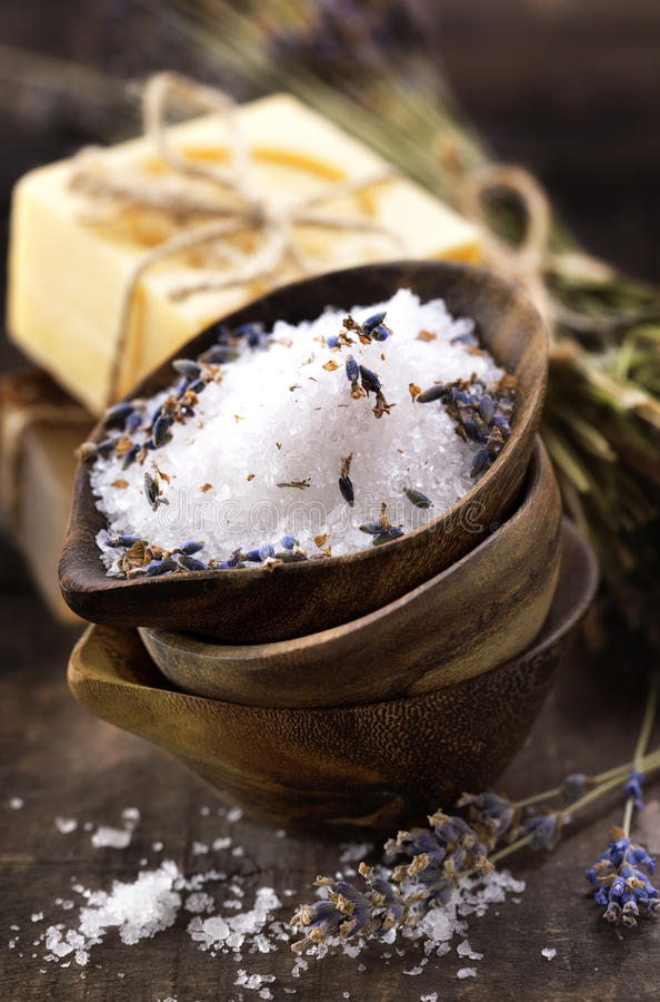 Download Spa salt stock photo. Image of meditation, massage, bathing - 17909582