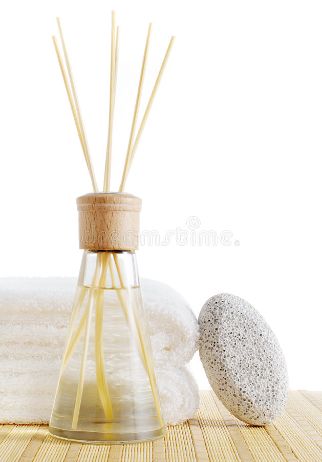 Download Spa Scene stock photo. Image of pumice, fresh, bright - 8008022