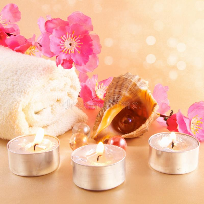 Free Spa Setting Stock Images - 18379044