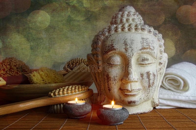 Download Spa setting for relaxation stock photo. Image of environment - 25248810