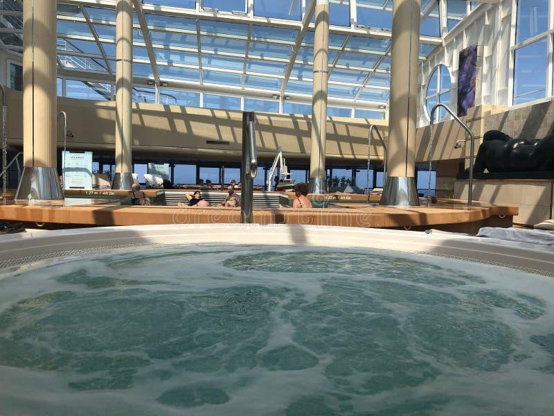 Spa on a ship indoor. stock photos