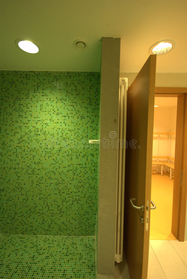 SPA showers bathroom stock photo. Image of showers, sinks - 3347204