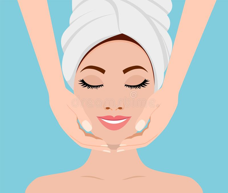 Spa skin and body care. stock photos