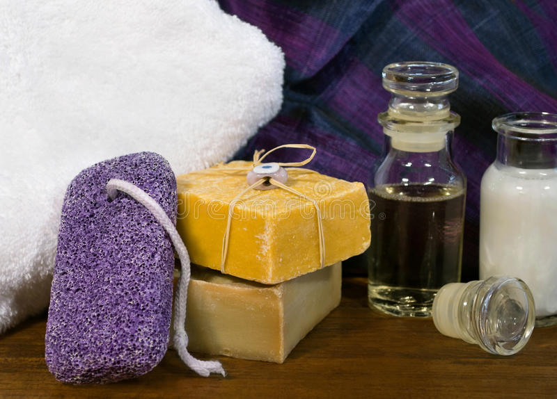 Spa and skincare products