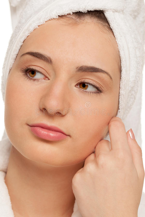 Download Spa smooth stock image. Image of calm, caucasian, looking - 25766913