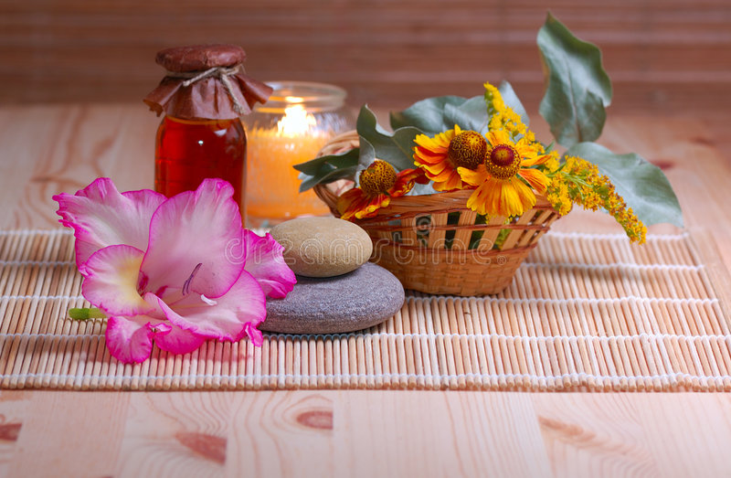 Download Spa still life stock image. Image of objects, flame, beauty - 6455607