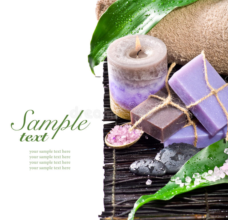Download Spa Still Life On Isolated White Background Stock Photo - Image: 23288892