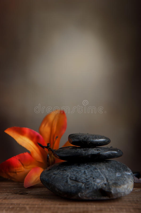Spa stone royalty free stock images