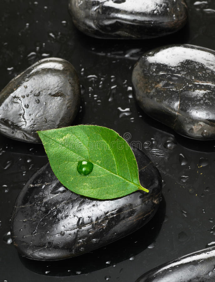Download Spa stones stock photo. Image of black, relax, shiny - 20246836