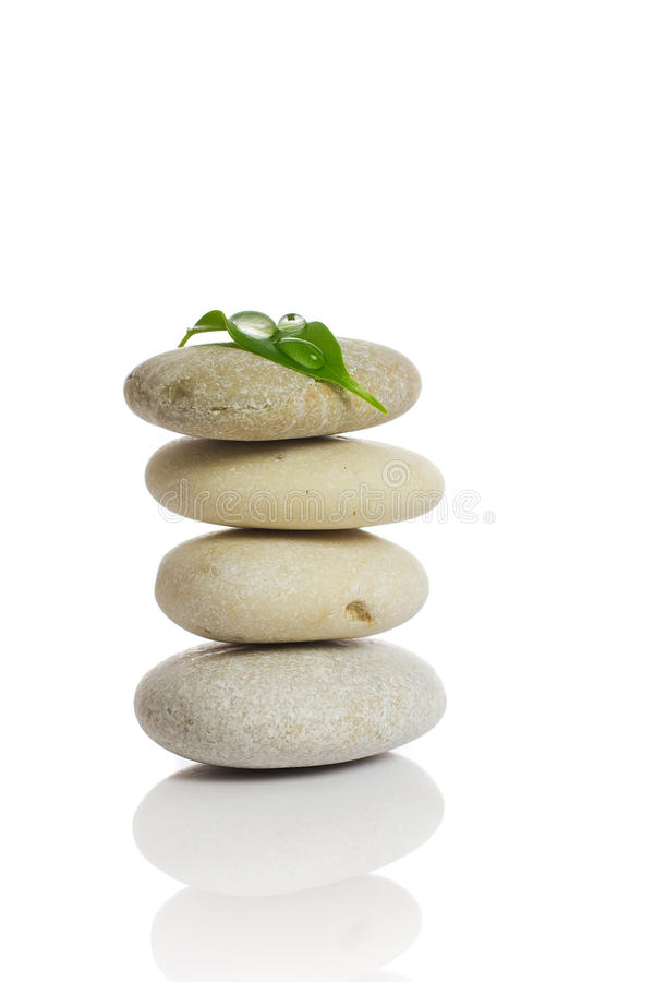 Download Spa stones. stock photo. Image of healthy, objects, stack - 26513338
