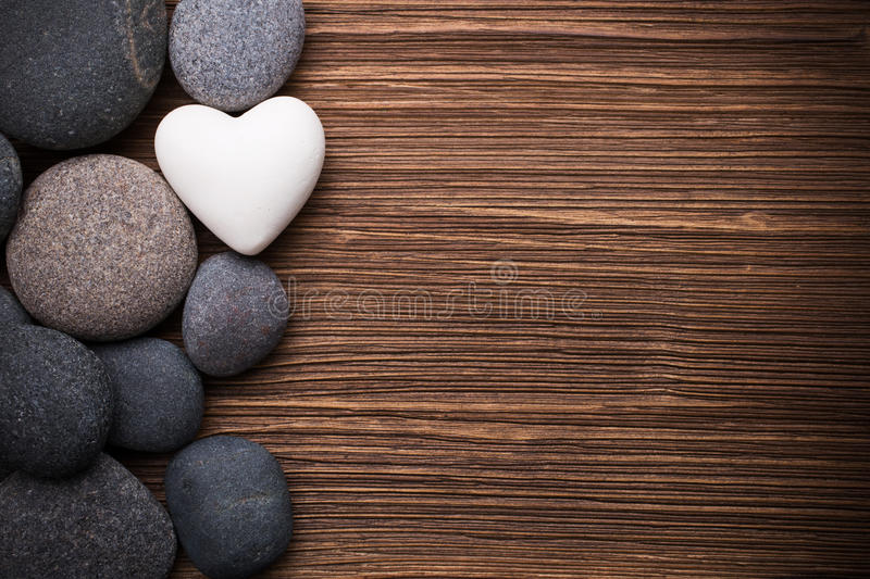 Spa stones. stock images