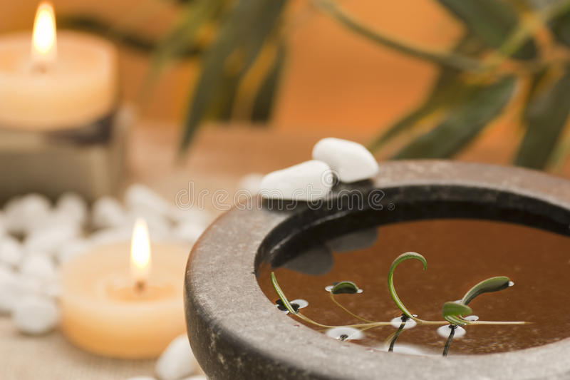 Spa theme royalty free stock images