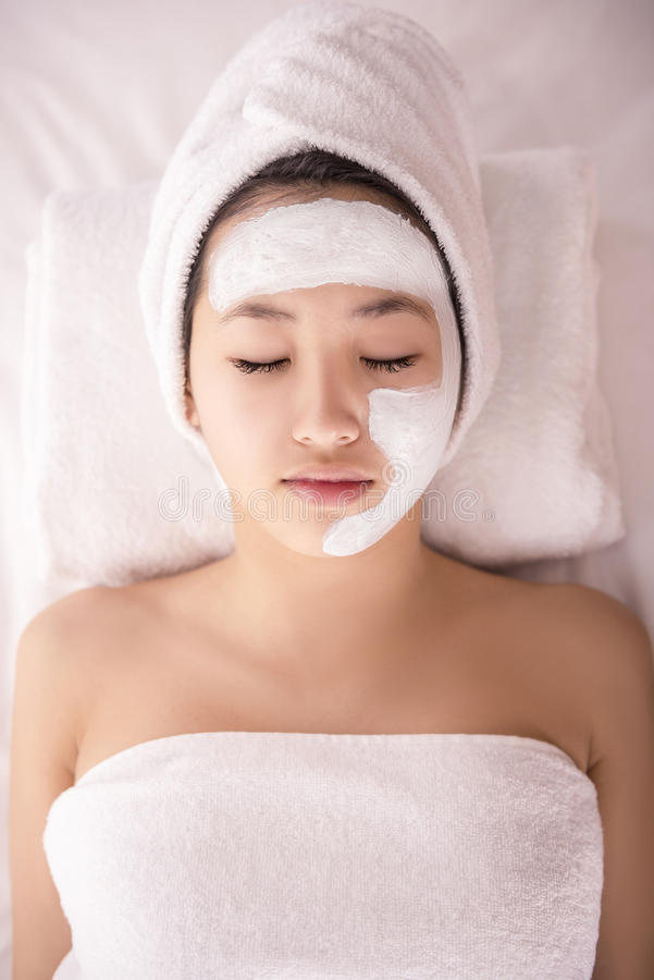 Spa therapy royalty free stock images