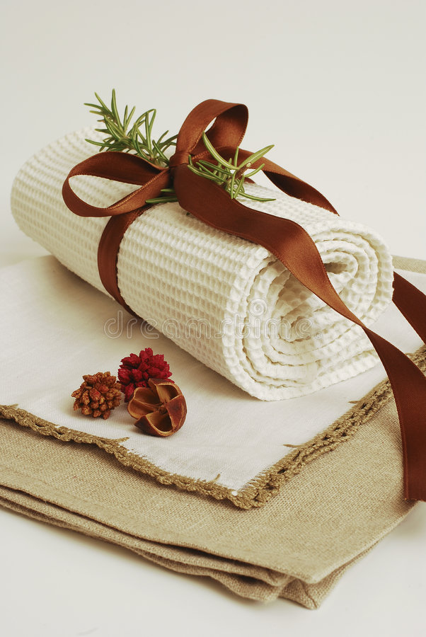 SPA Towels Wellness Stock Photos