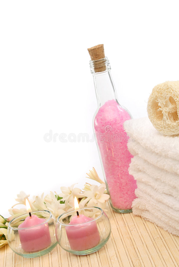 Download Spa treatment products stock image. Image of aromatherapy - 4423297