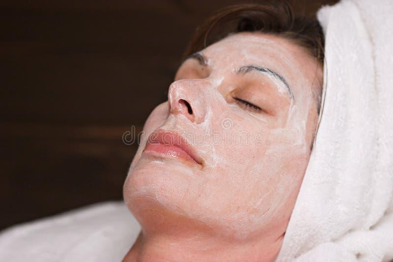 spa twarzy zdjęcia stock
