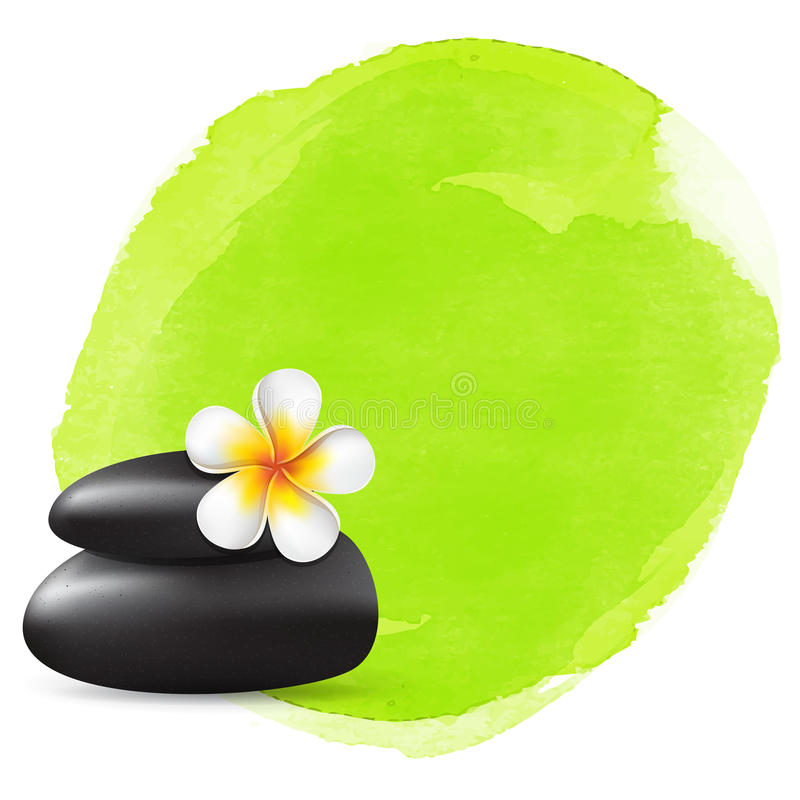Spa vector background royalty free illustration