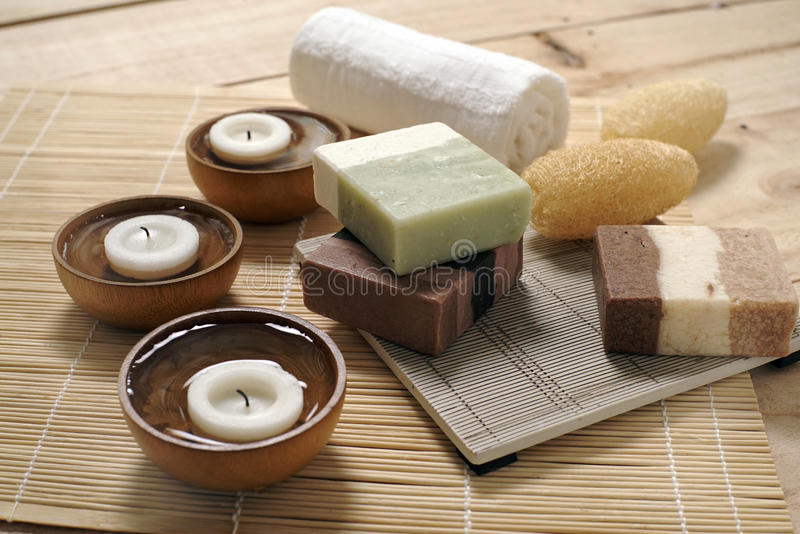 Spa And Wellness Decorations Ideas Stock Image Image Of