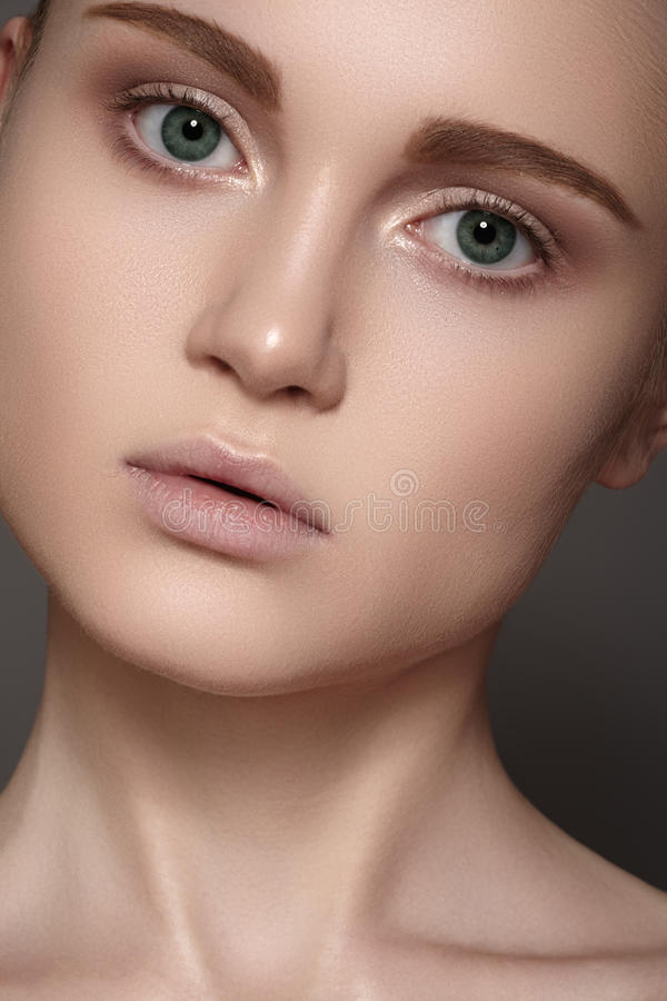 Download Spa Wellness & Health Care. Model With Clean Skin Stock Image - Image: 28601733