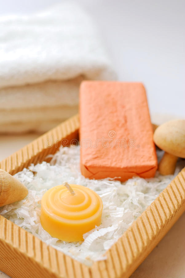 Spa And Wellness Items Stock Images