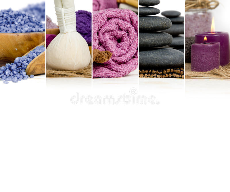 Spa Wellness Mix royalty free stock photography