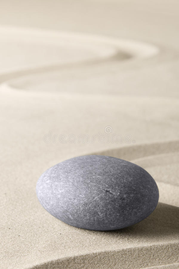 Spa wellness relaxation background with sand and stones stock images