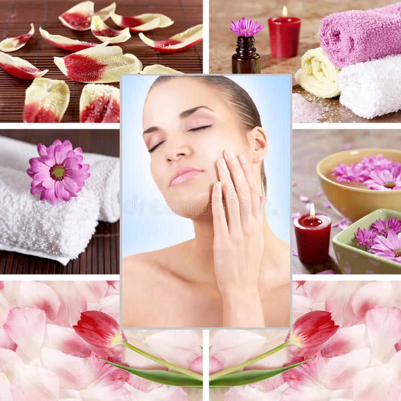 Download Spa woman stock image. Image of care, bodycare, flower - 14851467