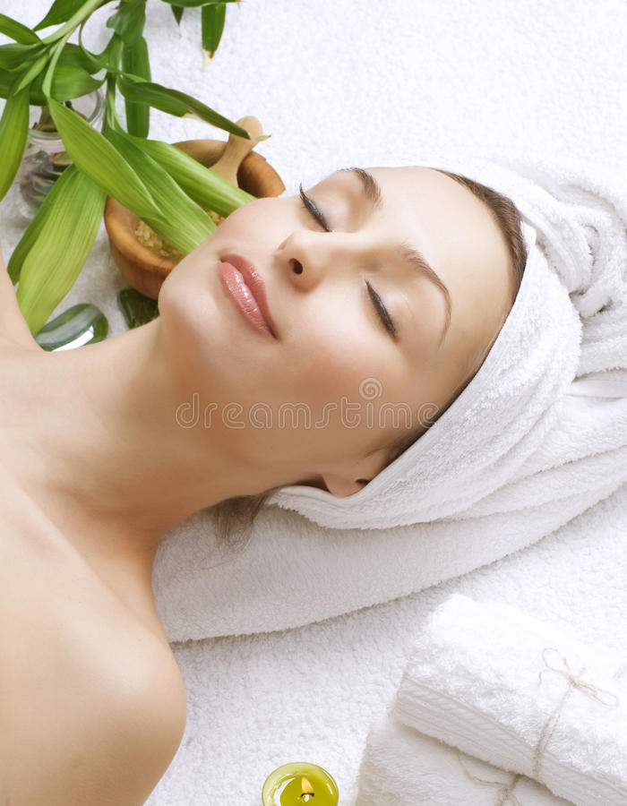 Download Spa Woman stock image. Image of healthy, close, body - 18029599