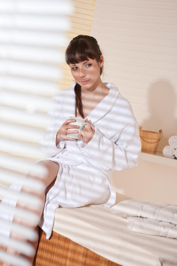 Download Spa - Young Female Client At Wellness Massage Stock Image - Image: 13184421