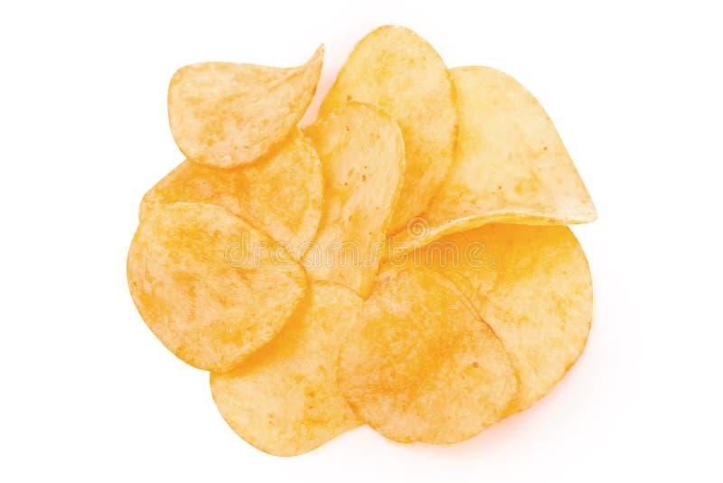 Spaanders gouden snack royalty-vrije stock afbeeldingen