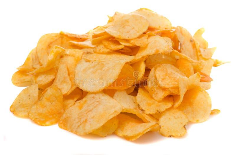 Spaanders gouden snack stock afbeeldingen