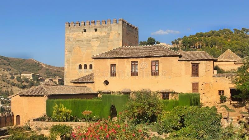 Spaans Buitenhuis royalty-vrije stock afbeelding