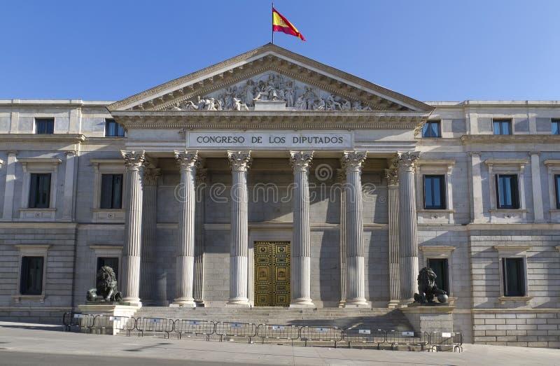 Spaans congres in Madrid royalty-vrije stock foto's
