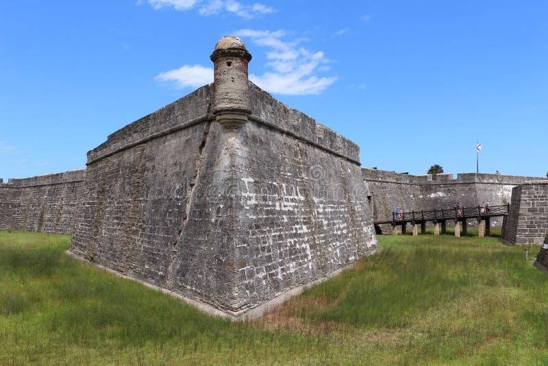 Spaans Fort royalty-vrije stock fotografie