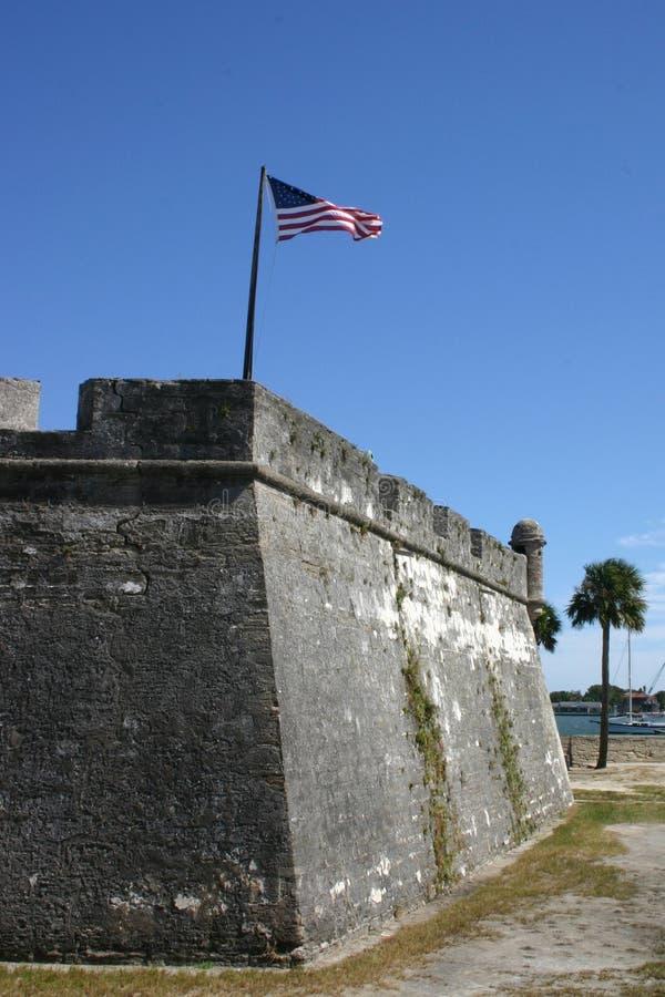 Spaans Fort royalty-vrije stock foto's