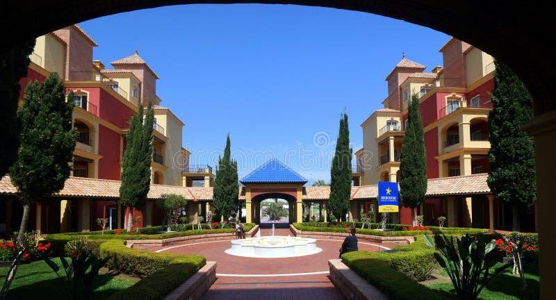 Spaans Hotel royalty-vrije stock foto