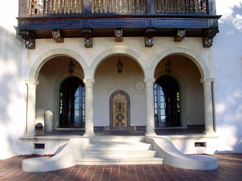 Spaans Huis stock afbeeldingen