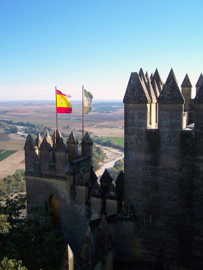 Spaans Kasteel stock afbeeldingen