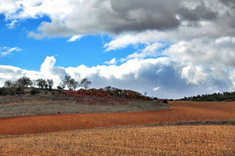 Spaans landschap stock foto's