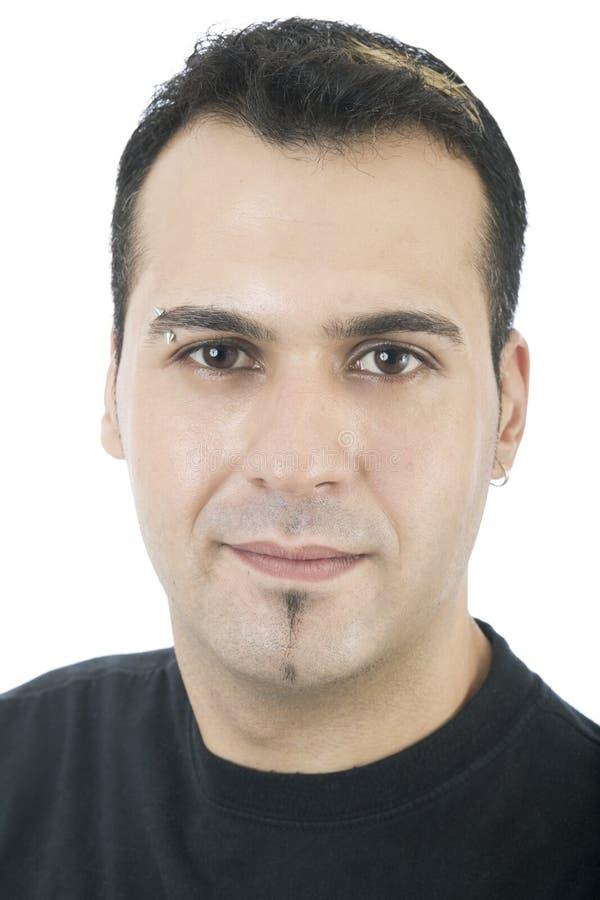 Spaans mannelijk portret 1 stock afbeelding