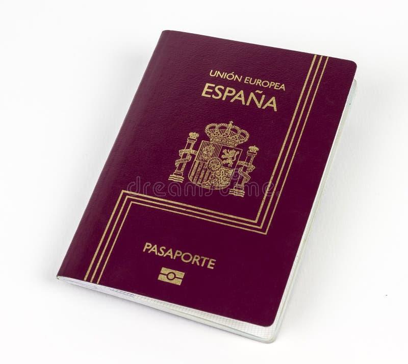 Spaans paspoort stock foto