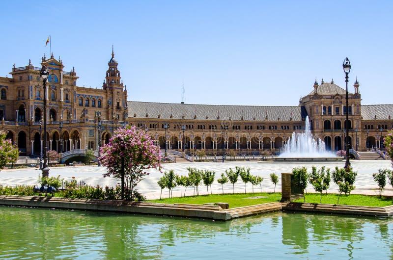 Spaans Vierkant Sevilla royalty-vrije stock foto