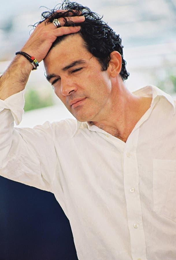 Spaanse acteur Antonio Banderas royalty-vrije stock foto's
