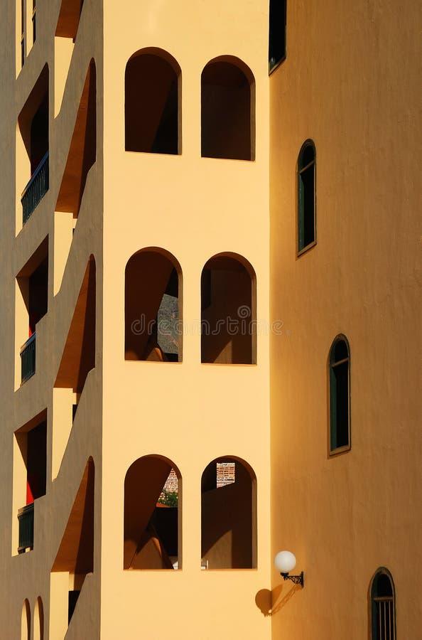 Spaanse architectuur stock fotografie