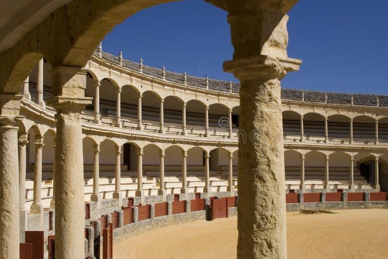 Spaanse Arena royalty-vrije stock fotografie