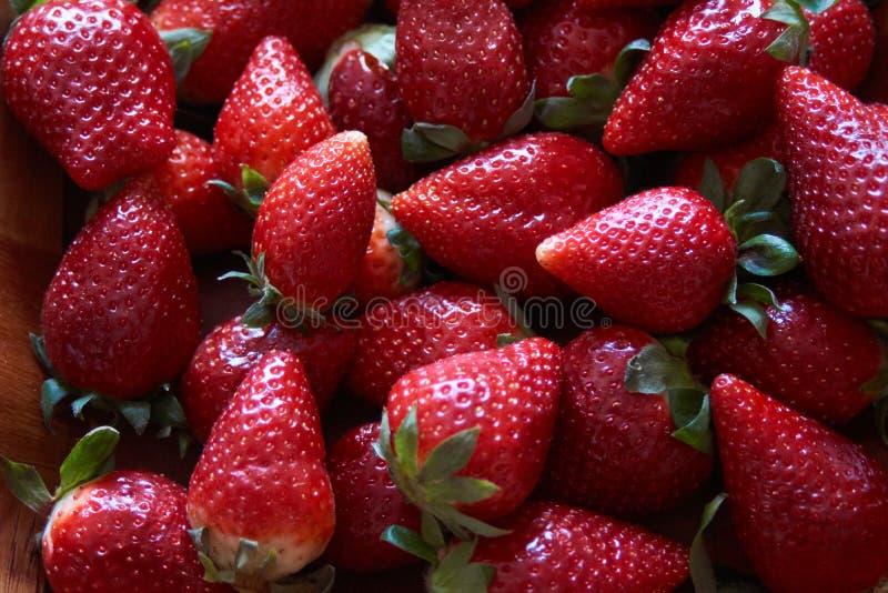 Spaanse beste aardbeien royalty-vrije stock foto