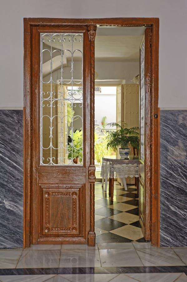 Spaanse deur stock afbeeldingen